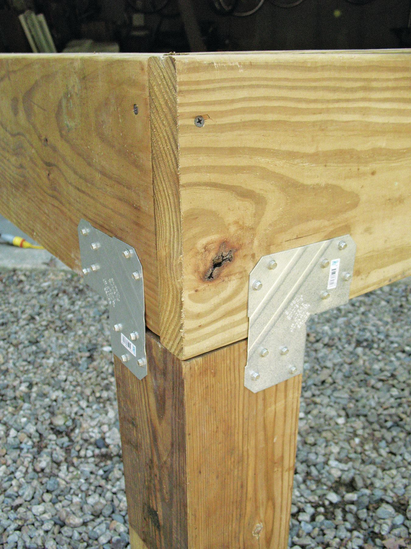 Stronger Post-to-Beam Connections | Professional Deck Builder