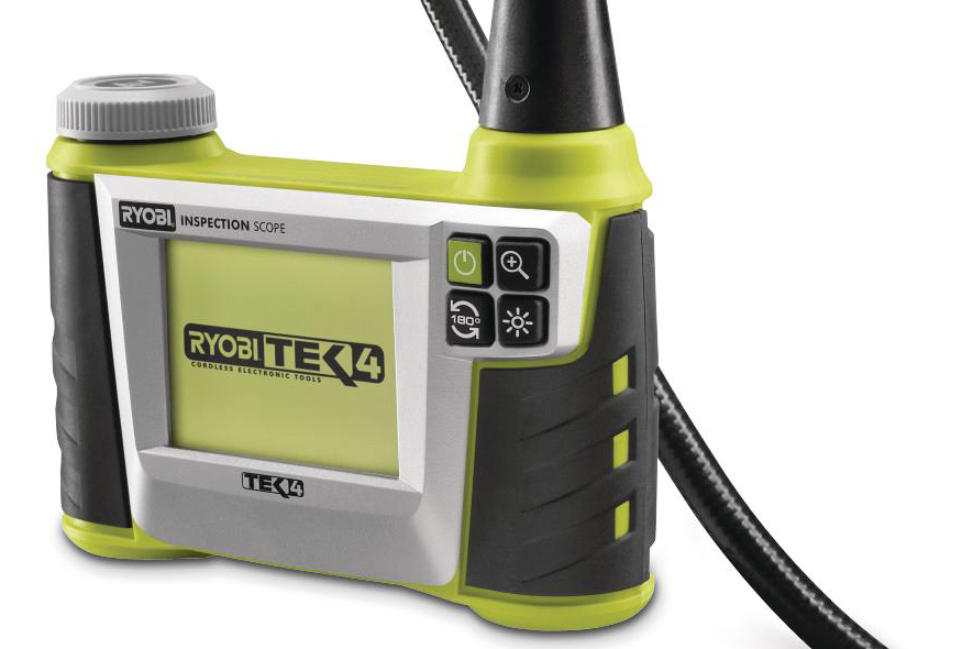 Ryobi Tek4 Digital Inspection Scope Remodeling Tools