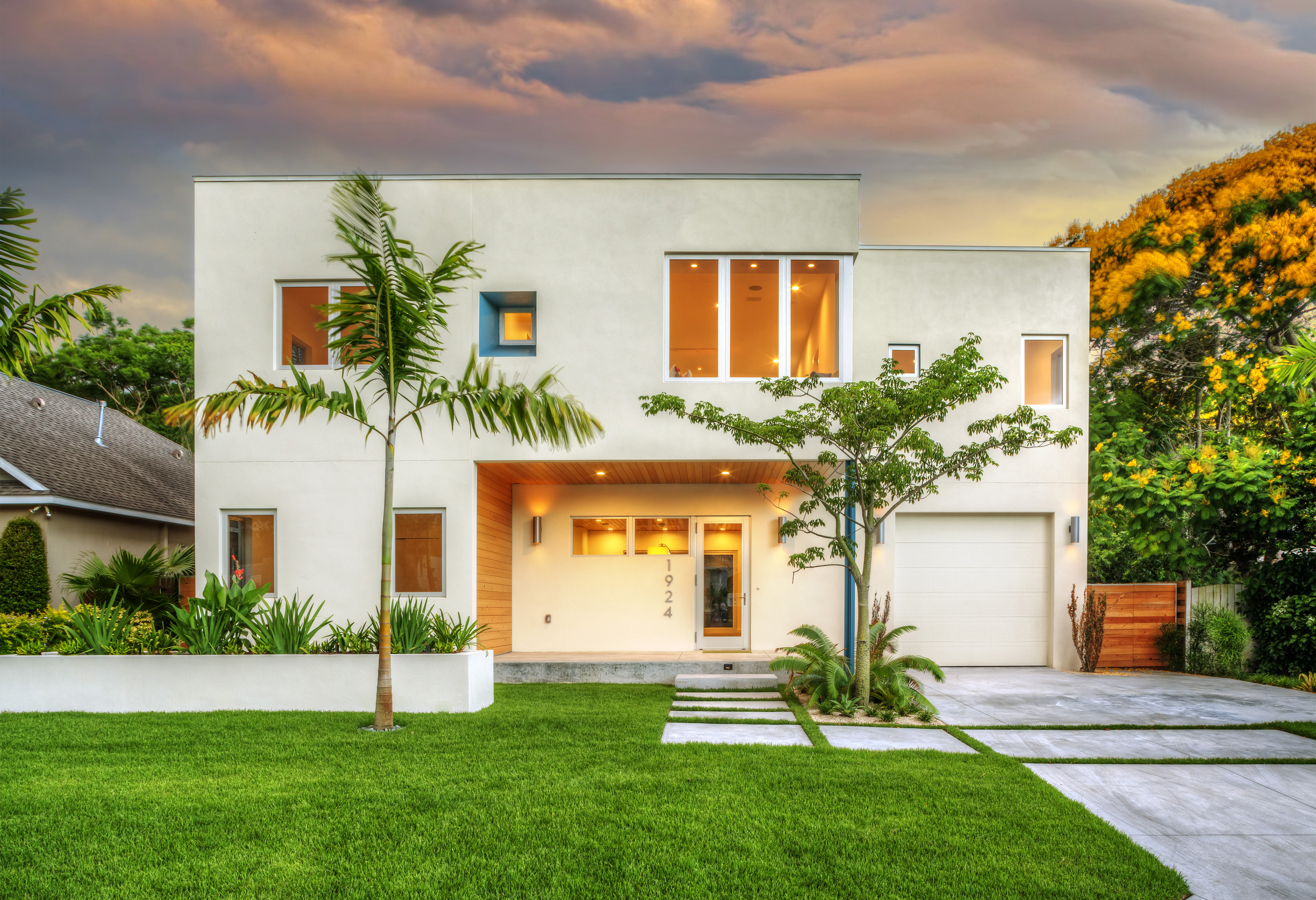 Bougainvillea house residential architect traction for Florida residential architects