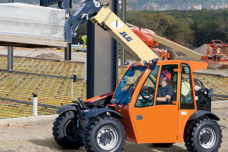 Jlg Industries Inc G5 18a Super Compact Telehandler Concrete Construction Magazine