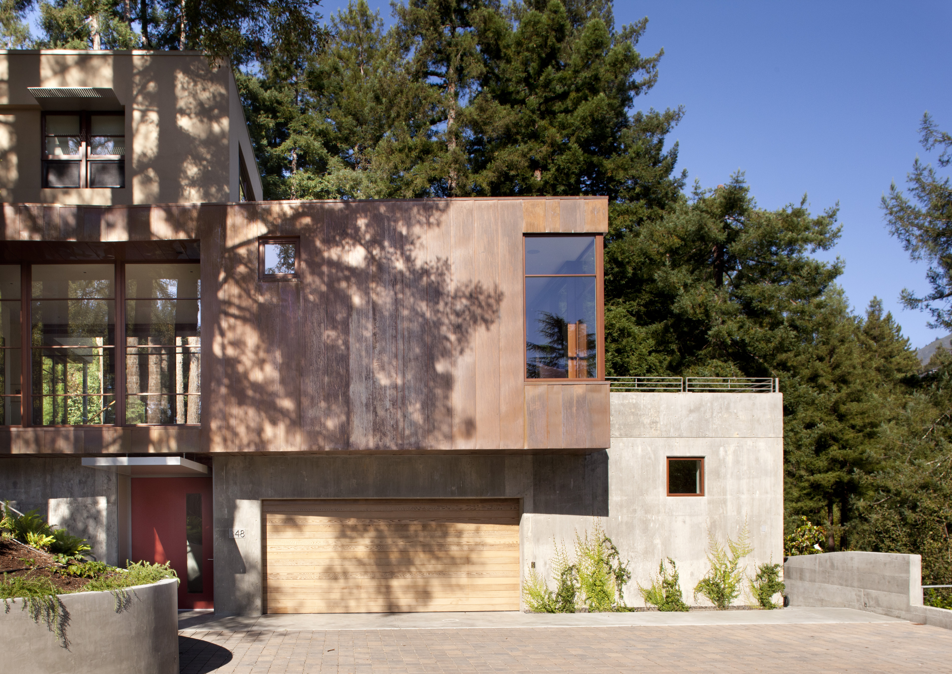 Mill valley residence architect magazine ccs for Mill valley architects