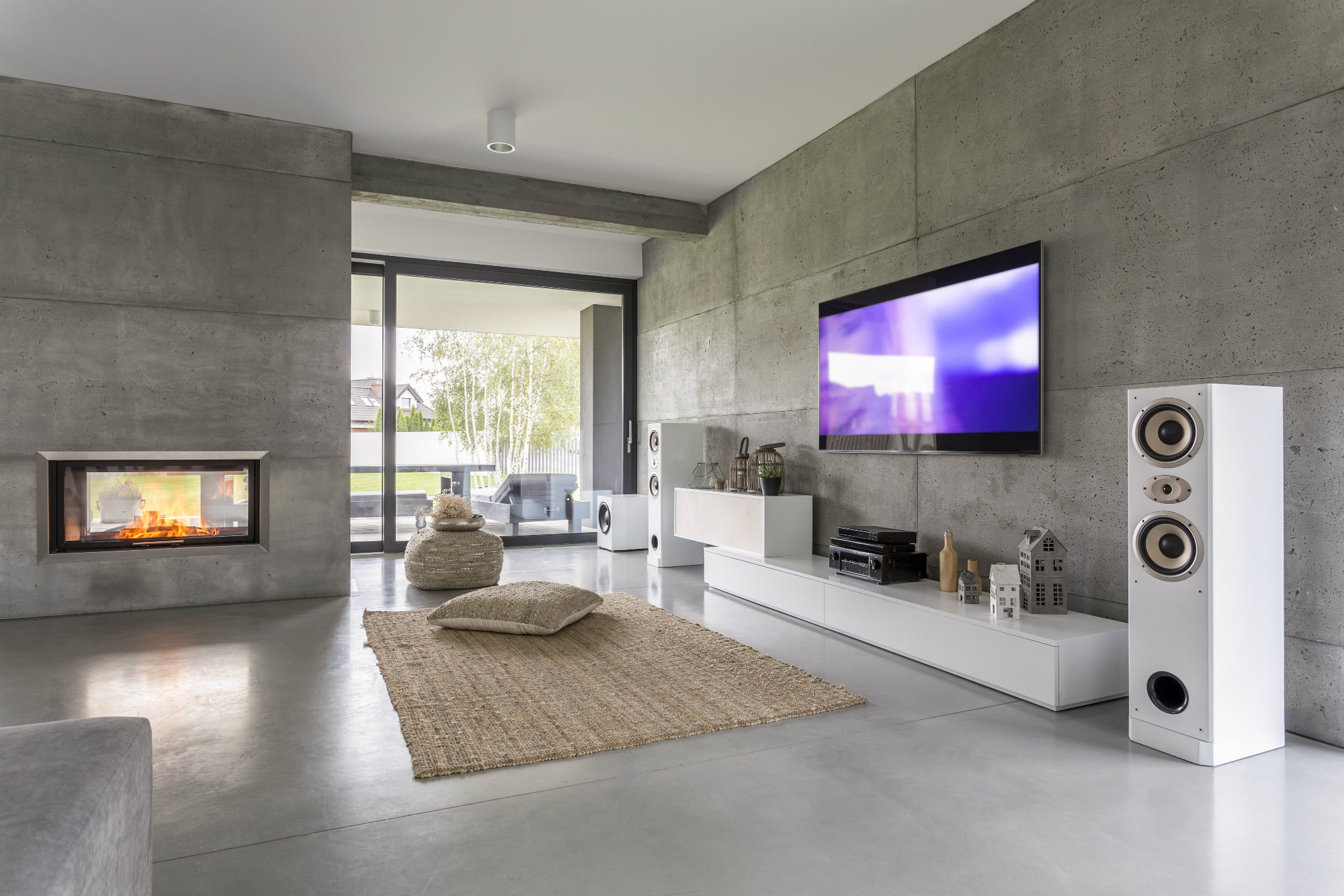 Captivating Why You Should Take A Hard Look At Concrete Floors, Fixtures And More For  2018 Interiors| Concrete Construction Magazine | Design, Residential  Projects, ...