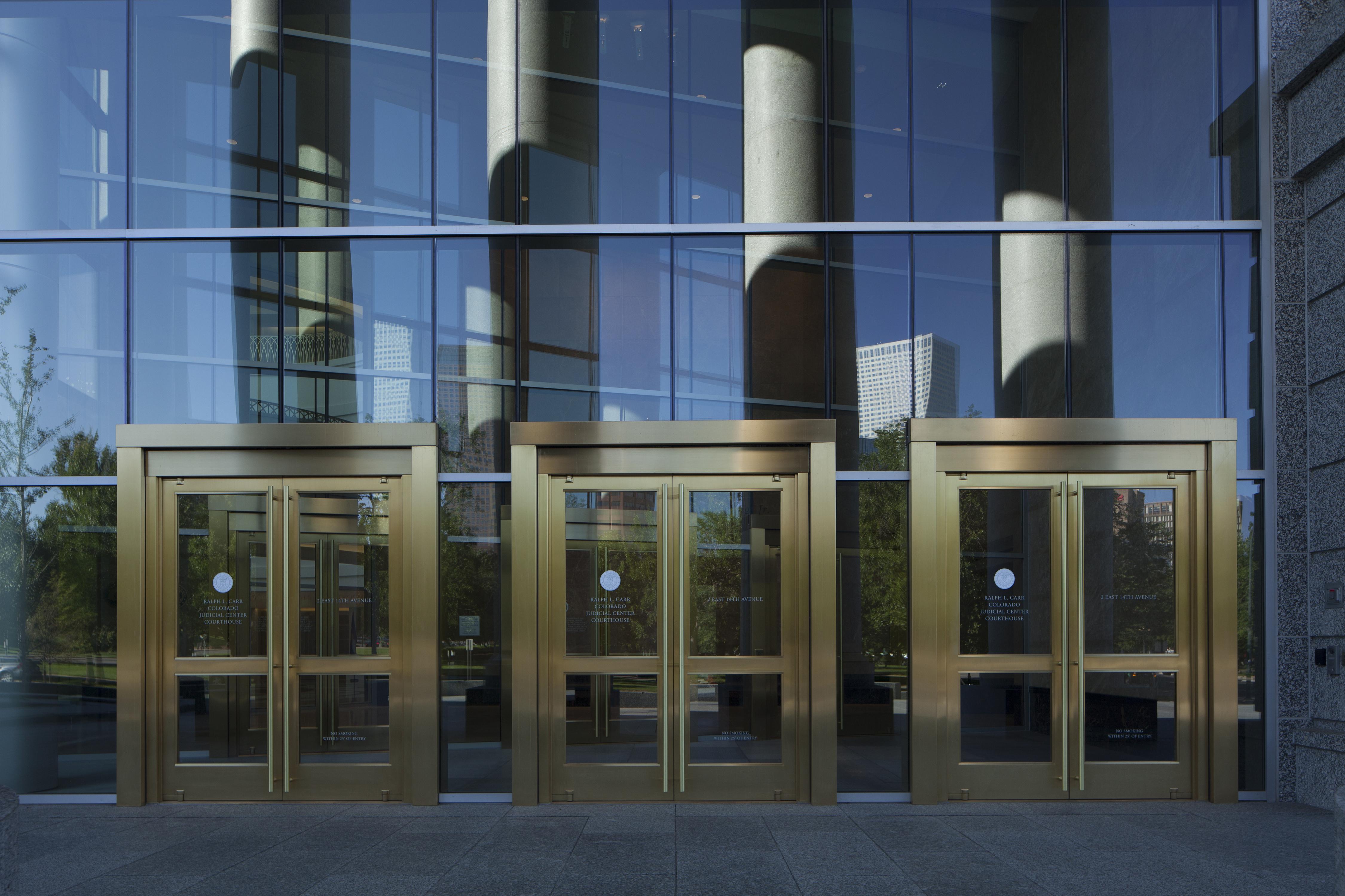 Ralph L Carr Colorado Judicial Center Architect
