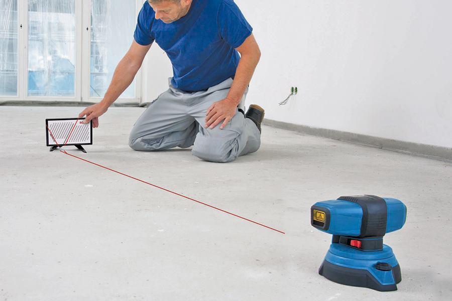 Floor Flatness Concrete Construction Magazine Tools And