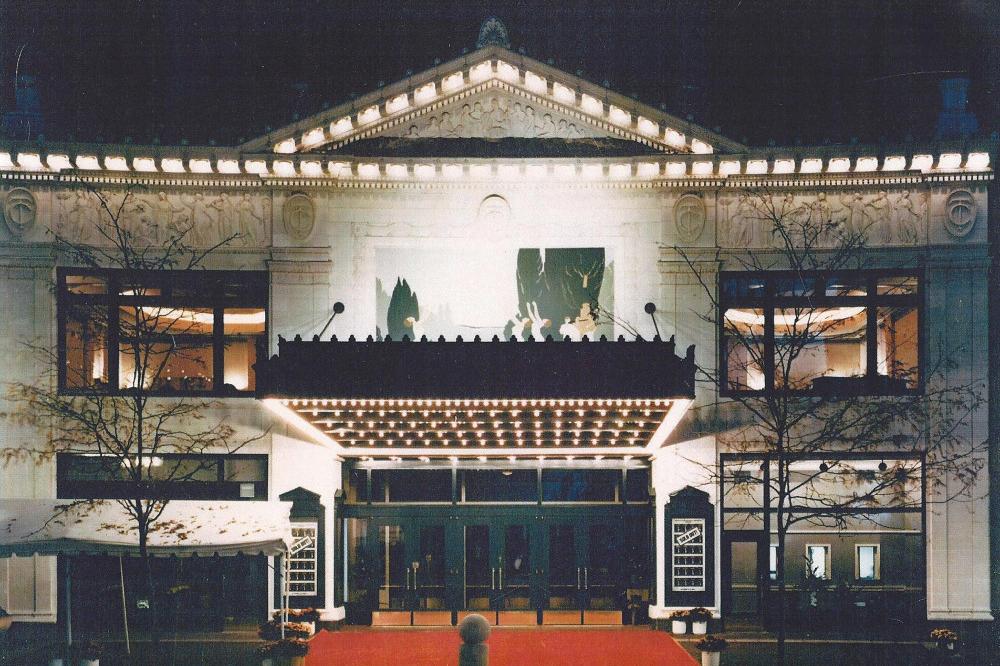 Hilbert Circle Theatre Architect Magazine Archonics