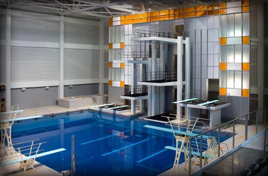 Allan Jones Intercollegiate Aquatic Center Aquatics