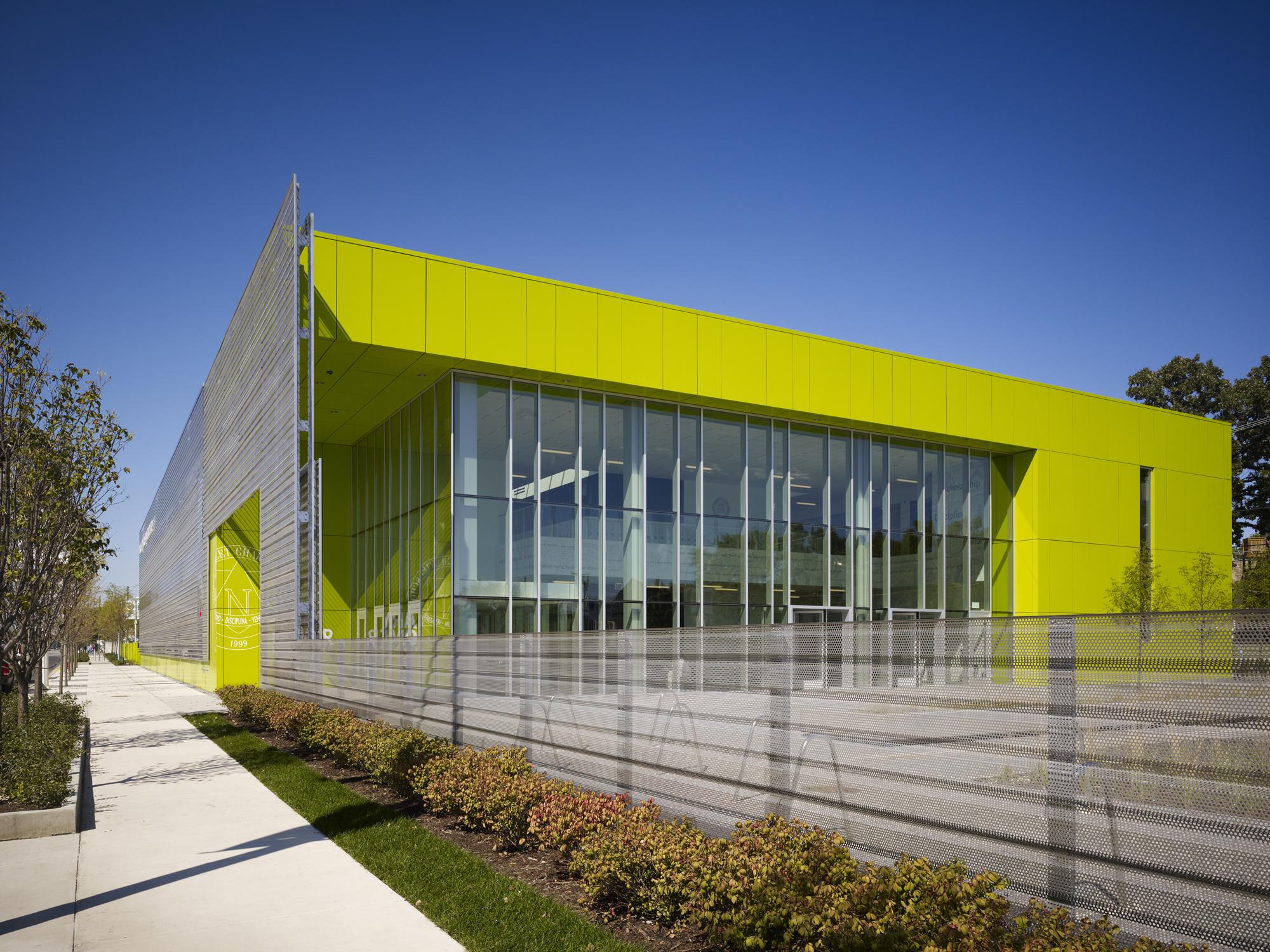 Gary Comer College Prep Architect Magazine John Ronan