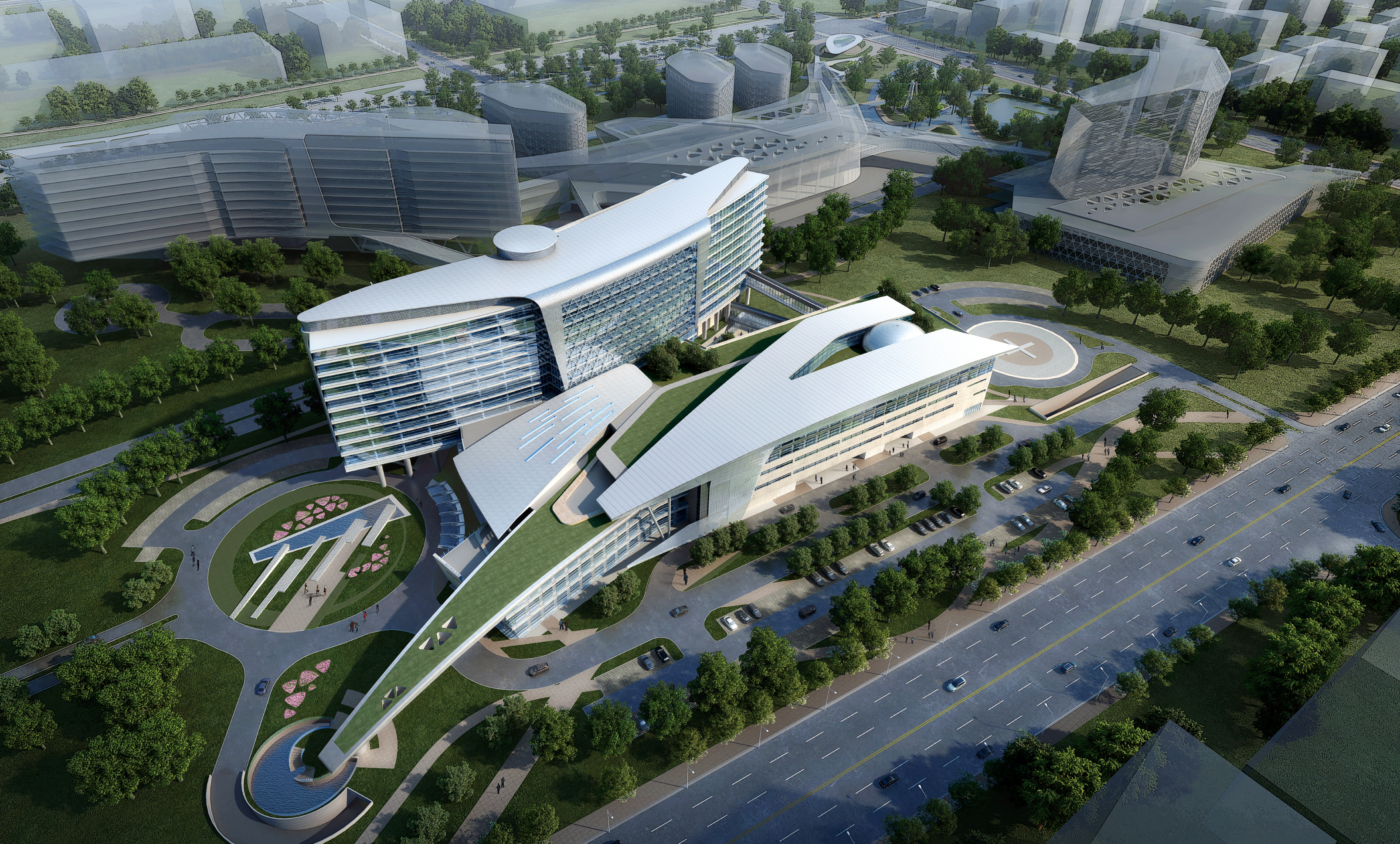 Huashan Hospital Architect Magazine
