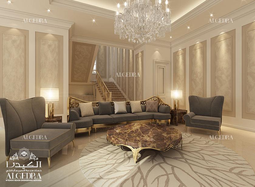 Luxury Villa Modern Living Room Design