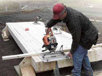 Gang Cutting Rafters Jlc Online Saws Tools And