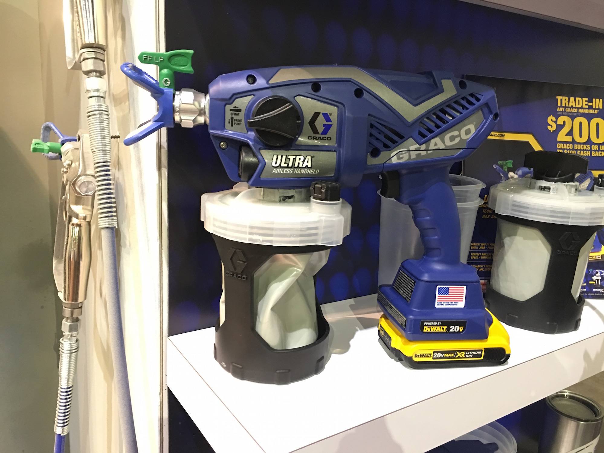 Graco Ultra Airless Cordless Sprayer Tools Of The Trade