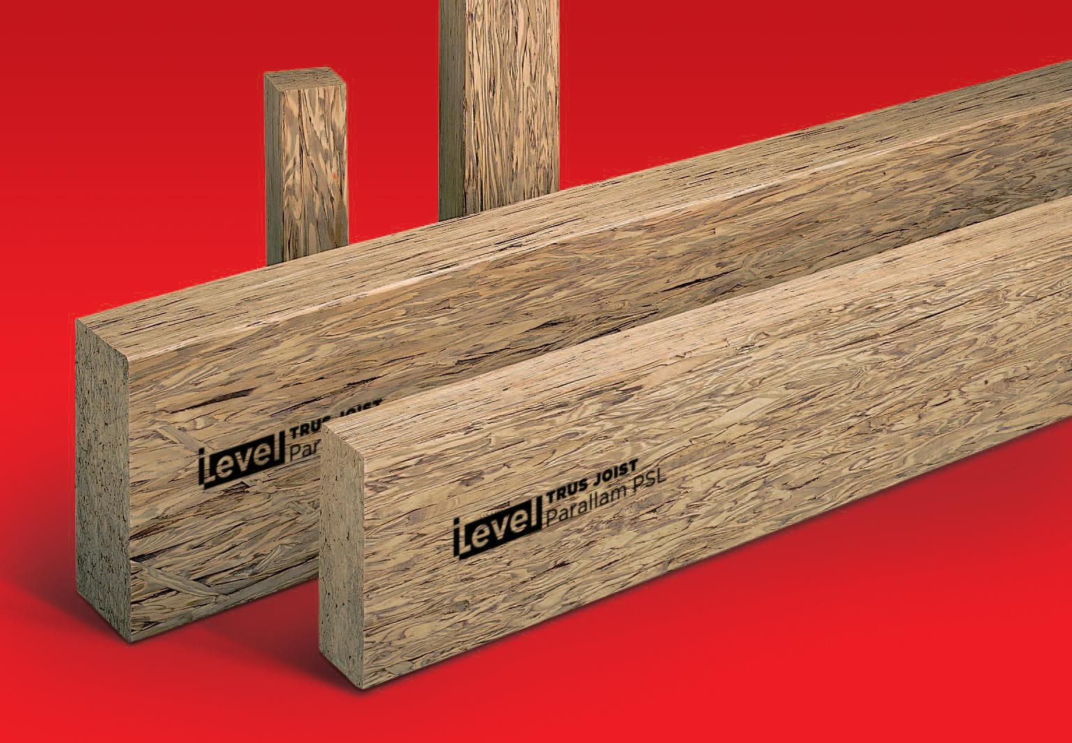 Ilevel By Weyerhaeuser Enhanced Parallam Plus Lumber