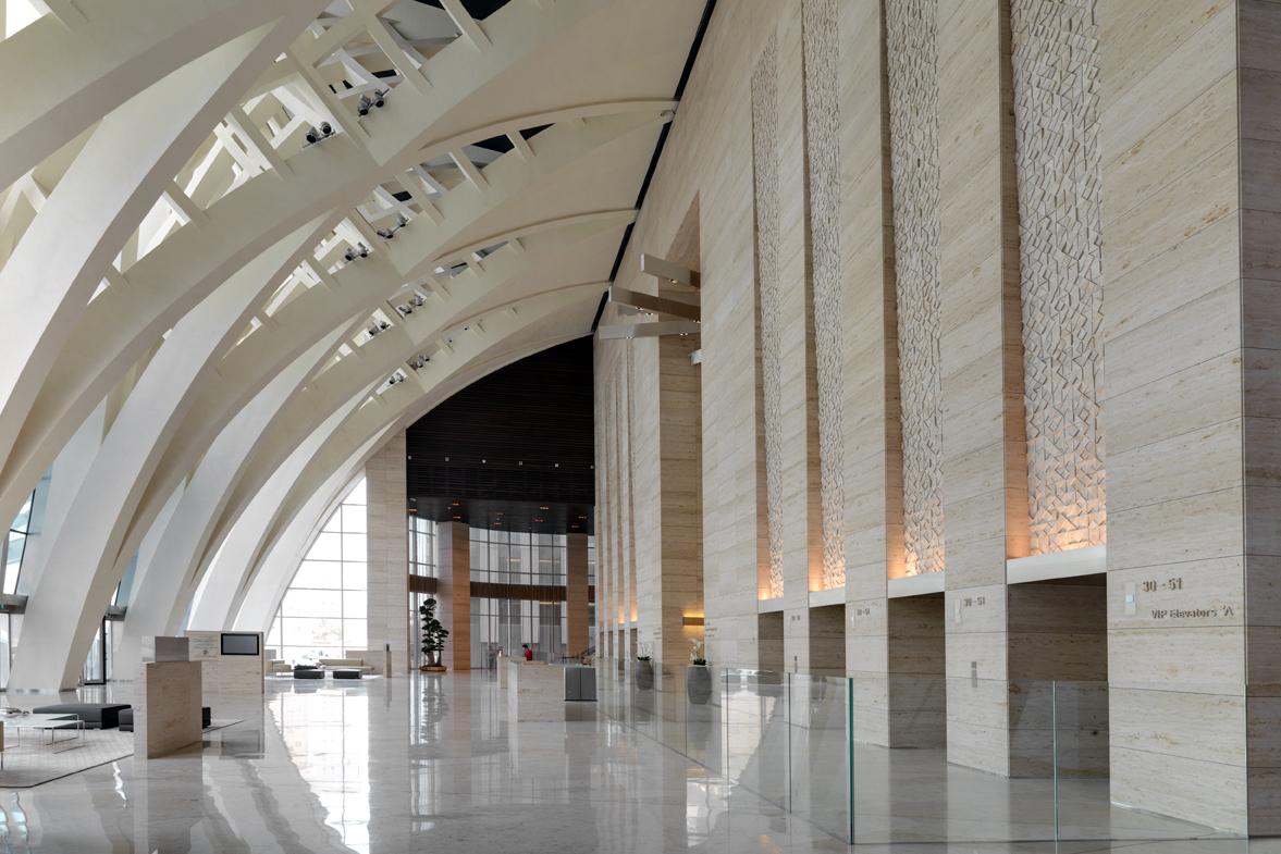 Al Hamra Business Tower Architect Magazine Skidmore