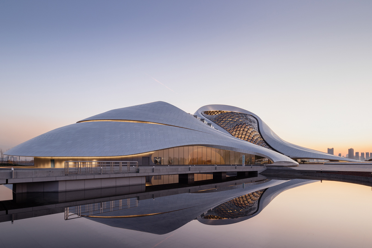 Harbin Opera House Architect Magazine Mad Architects Harbin China China Cultural