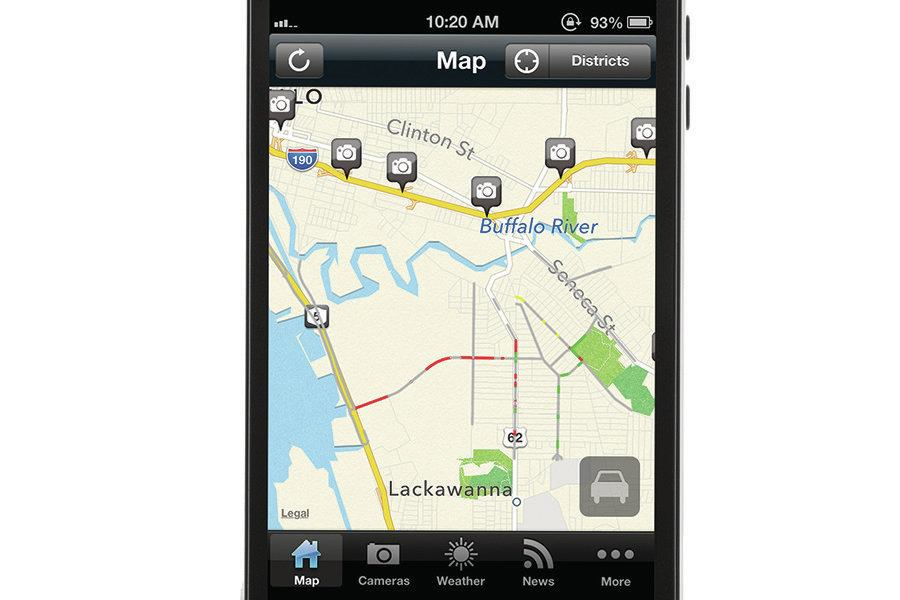 App gives updates on traffic and more| Concrete Construction