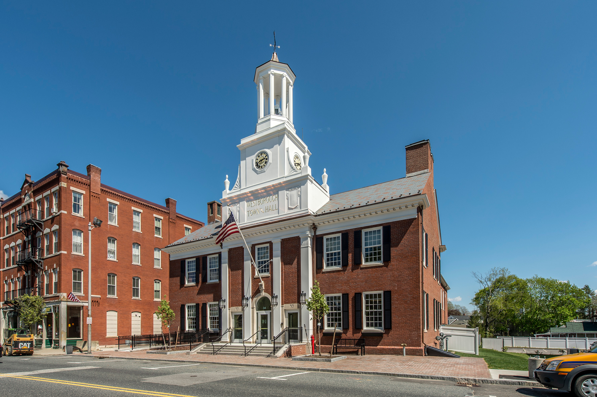 Westborough Town Hall Architect Magazine