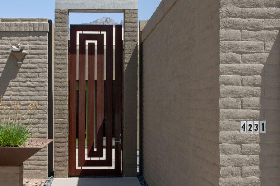 Great Gate In Tucson Custom Home Magazine