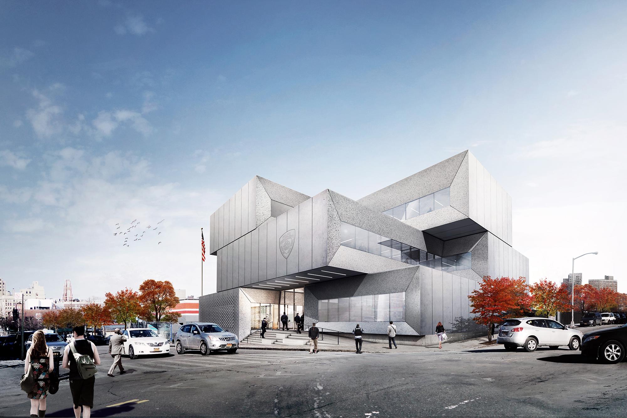 Nypd 40th Precinct Architect Magazine Bjarke Ingels
