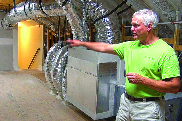 Buried Ductwork In The Energy Code Jlc Online Hvac