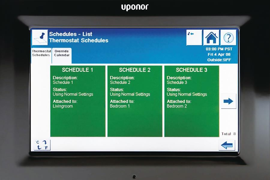 Uponor Climate Control Network System Architect Magazine