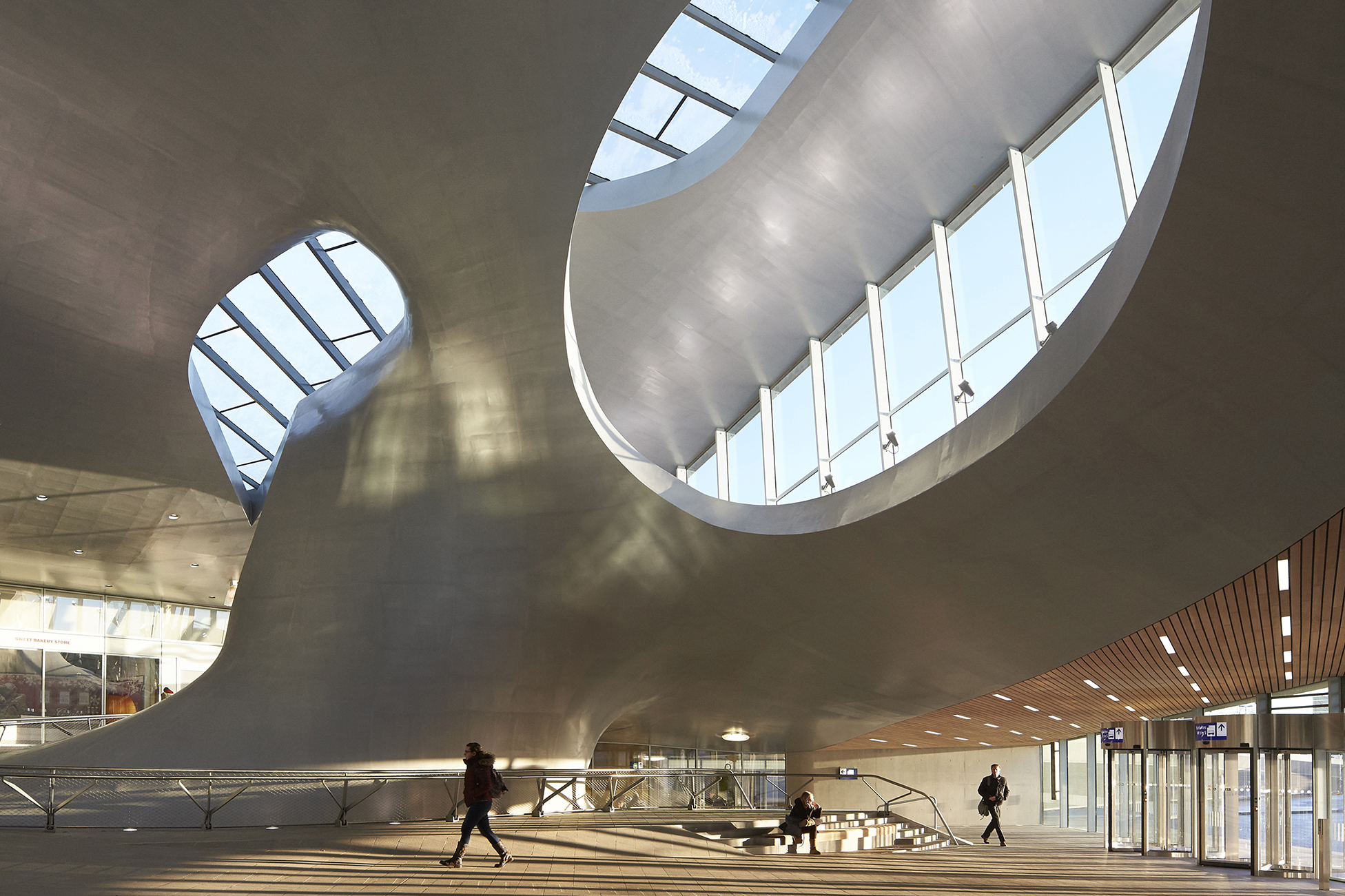 Commercial Van Interiors >> Arnhem Station | Architect Magazine | UNStudio, Arnhem ...