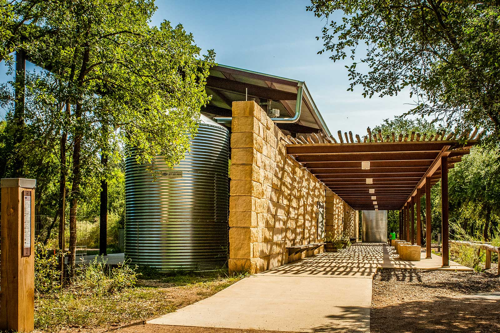 Salado Outdoor Classroom Pavilion Architect Magazine