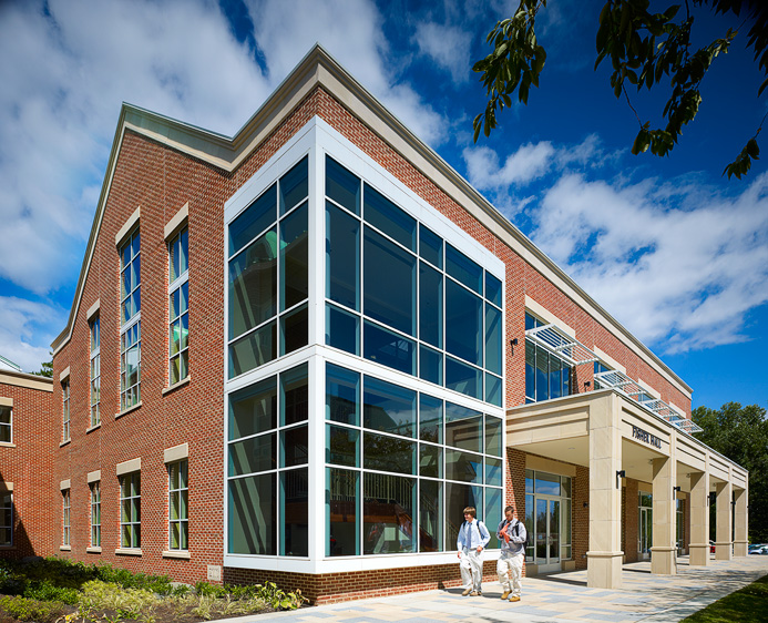 St Paul S School Upper School Library Architect