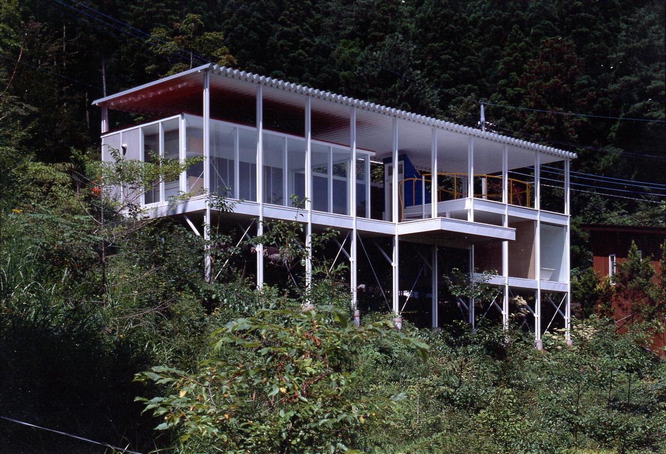 House Of Double Roof Architect Magazine Shigeru Ban