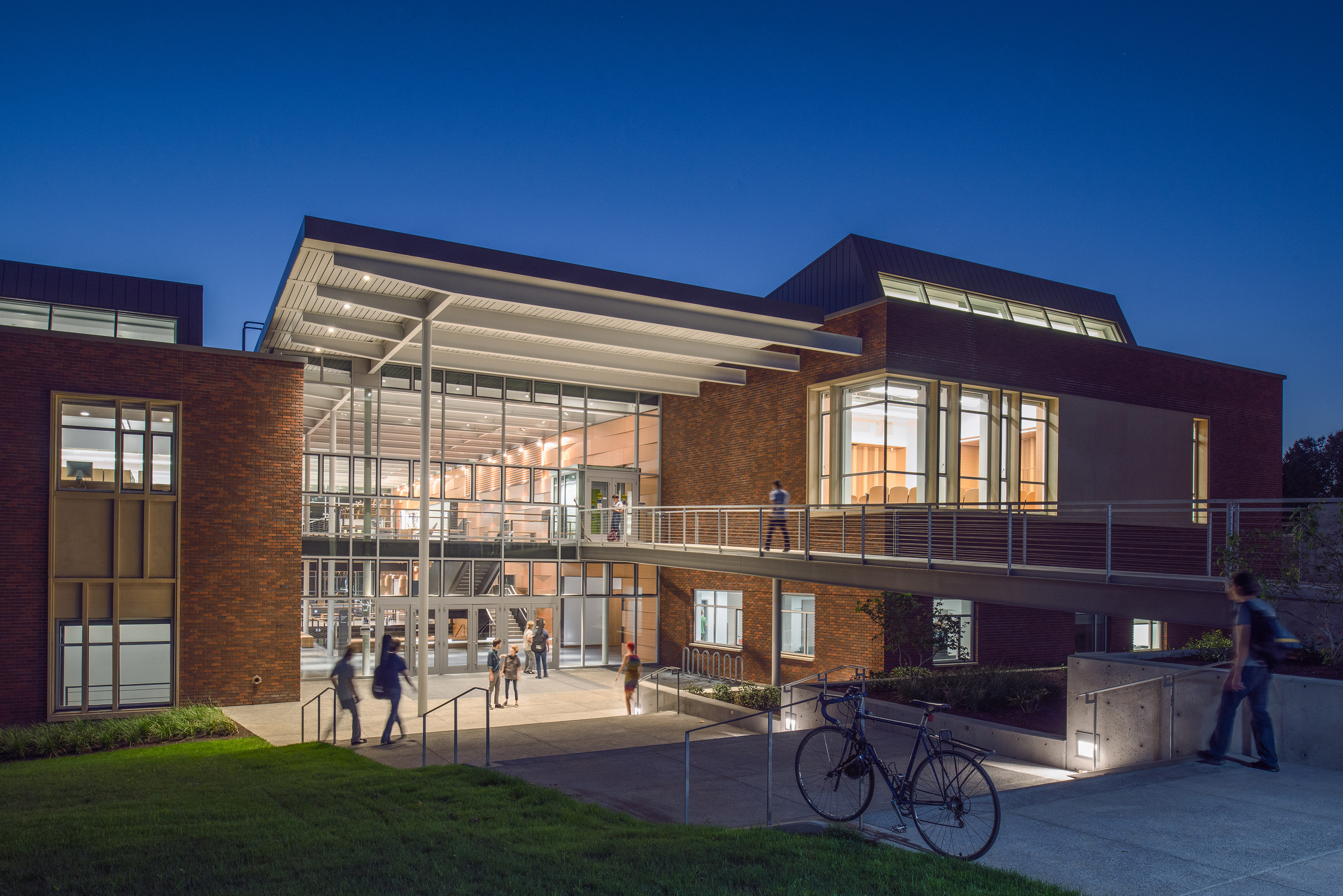 arts building performing architecture college oregon portland awards university architect projects facility library education center united states community reed theatre