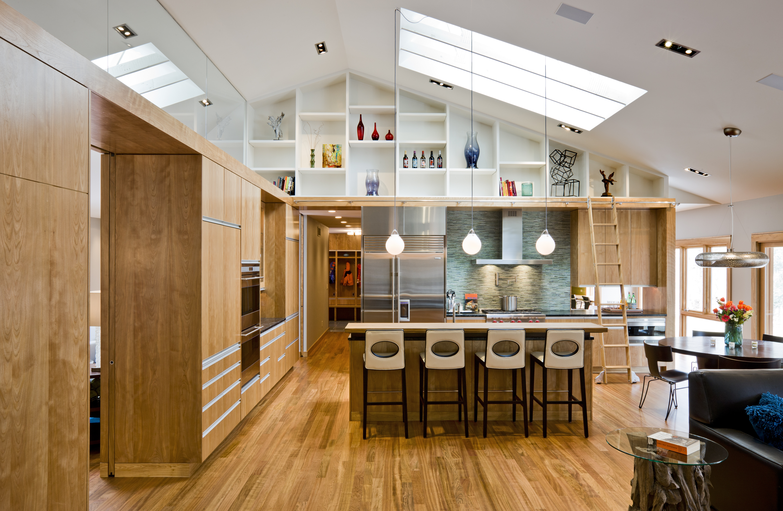 Lovely Split Level Kitchen Wall Removal