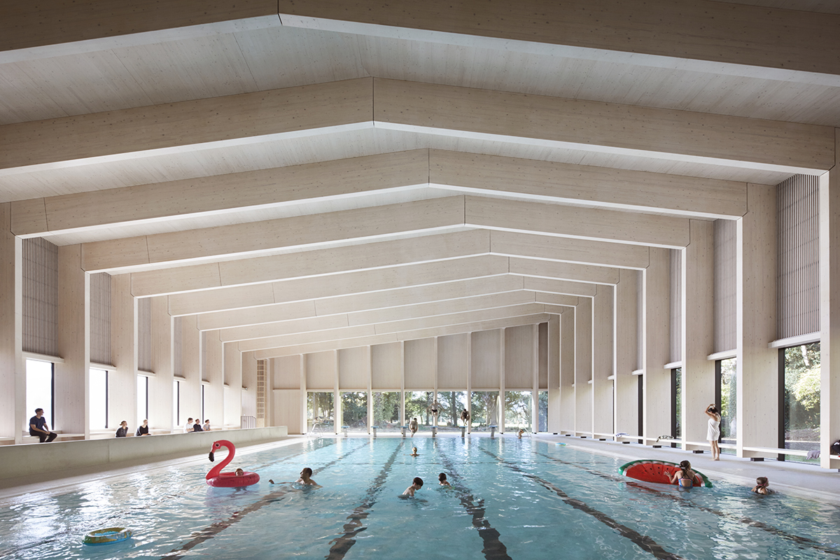 City Of London Freemen S School Swimming Pool Architect