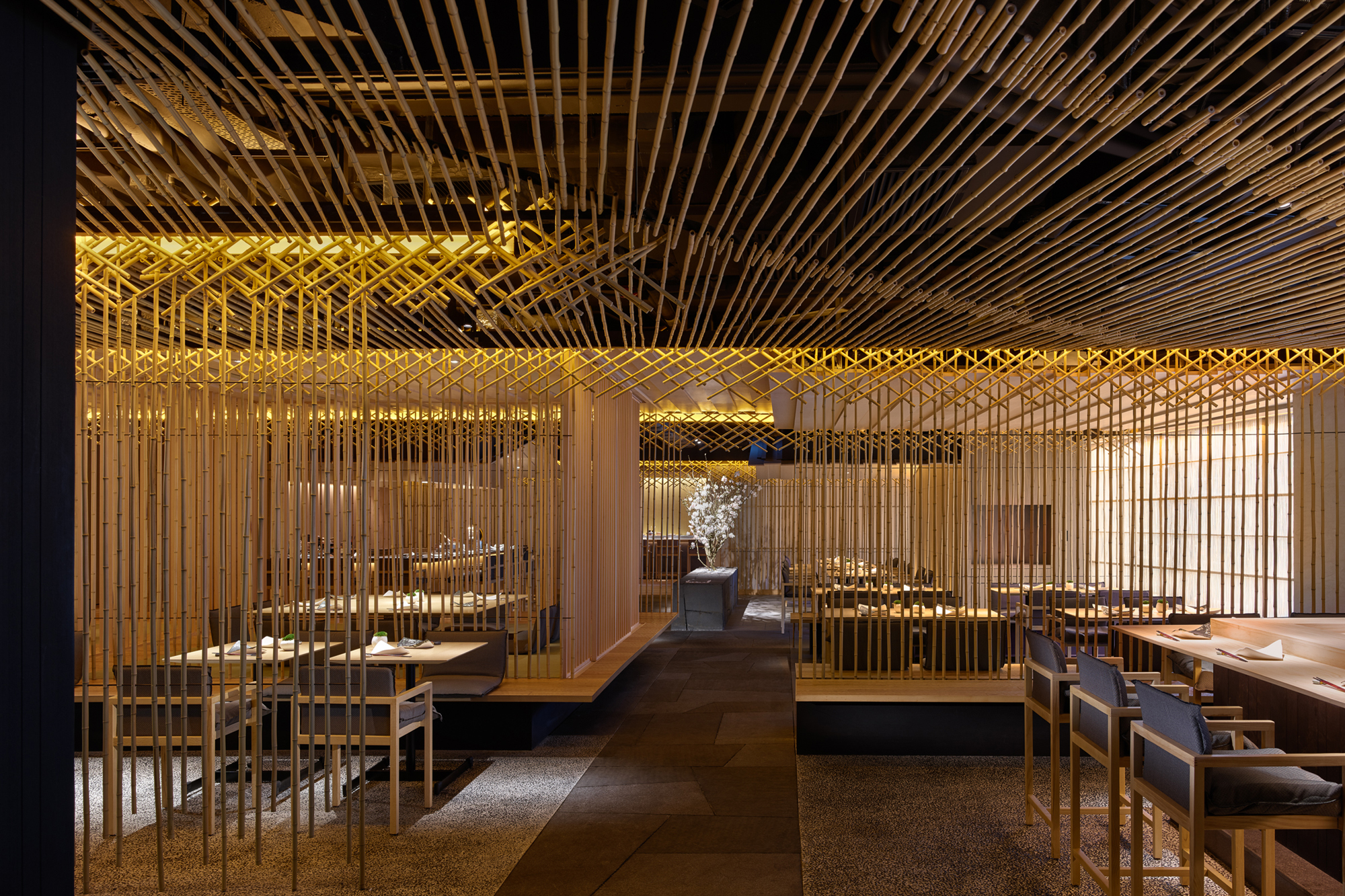 Také Restaurant | Architect Magazine | Kengo Kuma & Associates, Hong ...