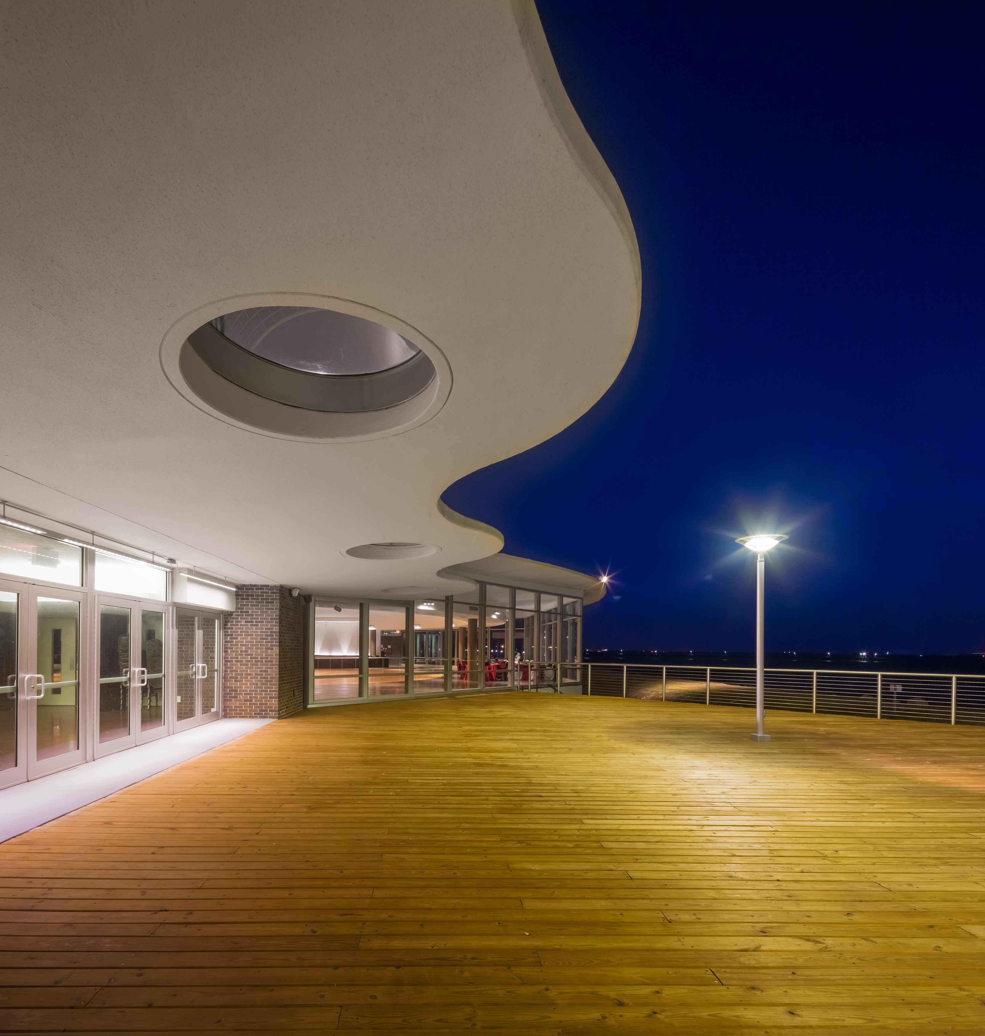 harris county precinct  sylvan beach pavilion architect magazine kirksey houston tx