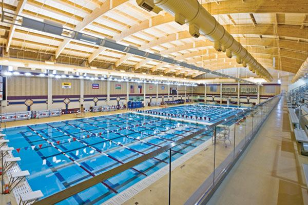 Conroe Isd Natatorium Aquatics International Magazine