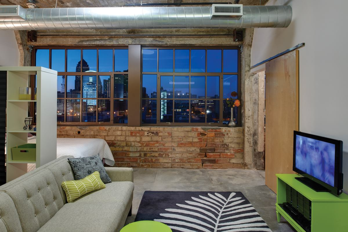 Ap Lofts Des Moines Iowa Architect Magazine Award