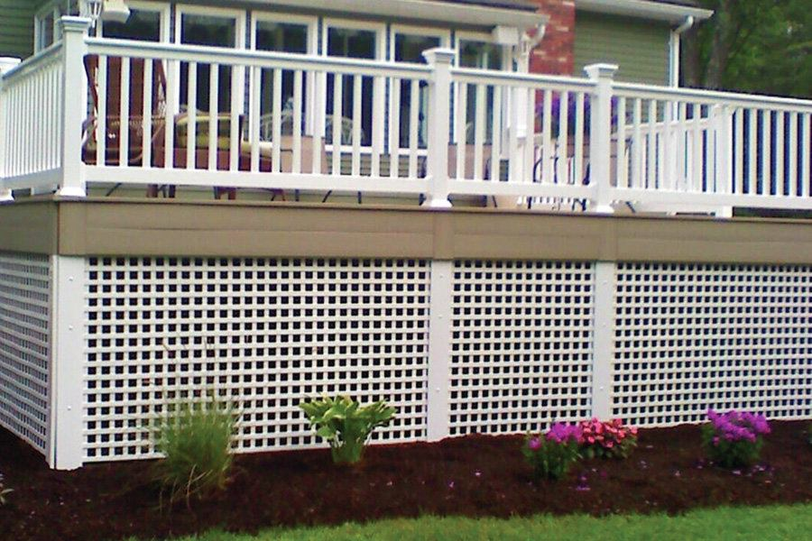 Permalatt Durashell And Decorator 3 D Vinyl Lattice