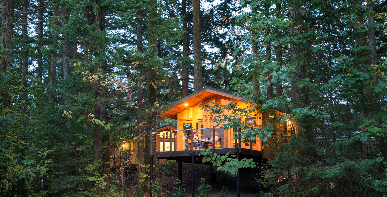 The Wholesale House >> The Tree Houses of Skamania Lodge | Architect Magazine ...