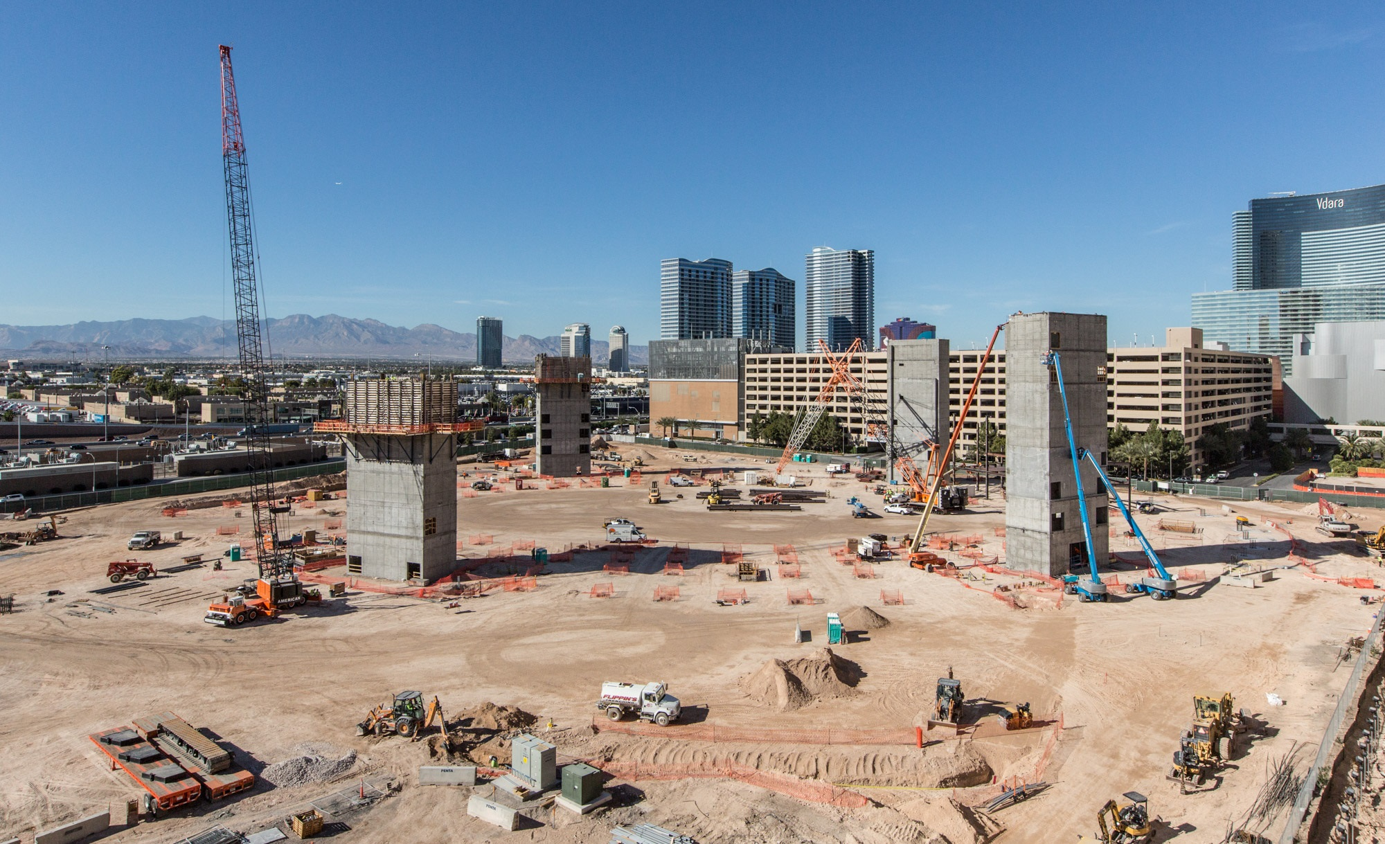T Mobile Arena Las Vegas Concrete Construction Magazine