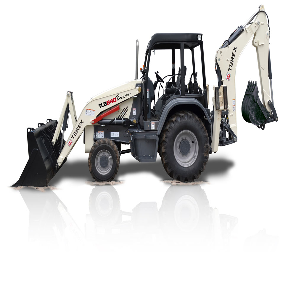 TLB840R backhoe loader from Terex  Public Works Magazine   Fleets, Trucks  and Accessories