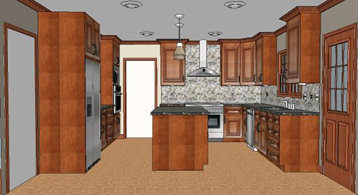 Upscale Major Kitchen Remodel (After)