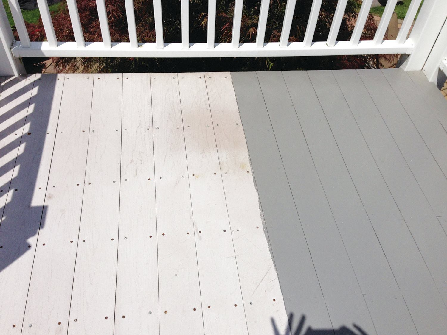 Painting Composite Decking