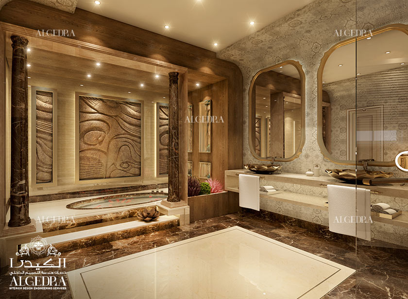 Luxury Bathroom Design In Abu Dhabi
