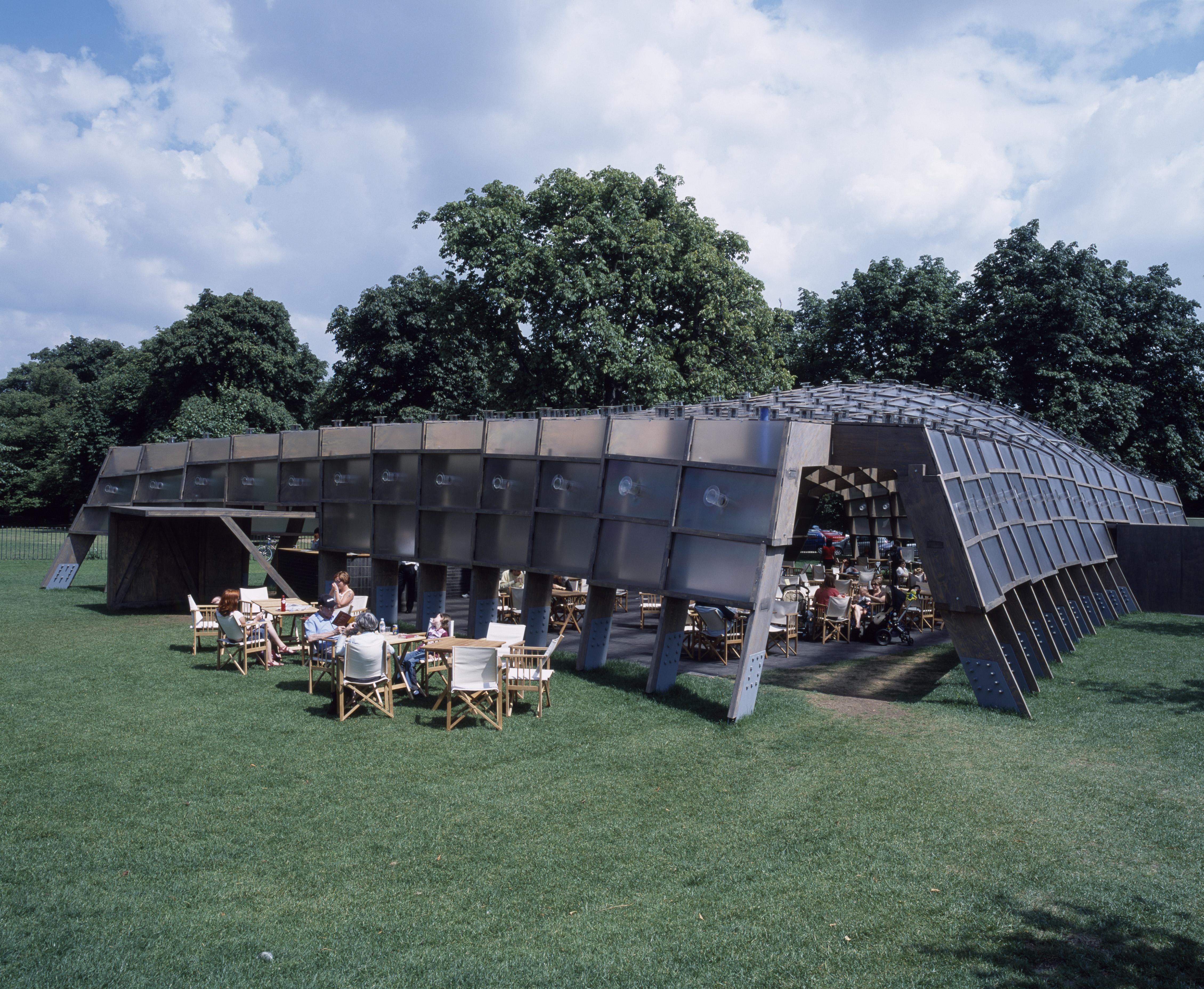 2005 Serpentine Gallery Pavilion Architect Magazine