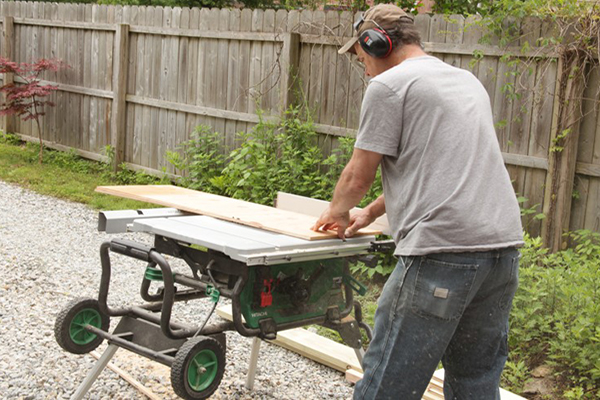 Jobsite Review Hitachi C10rj Table Saw Tools Of The Trade