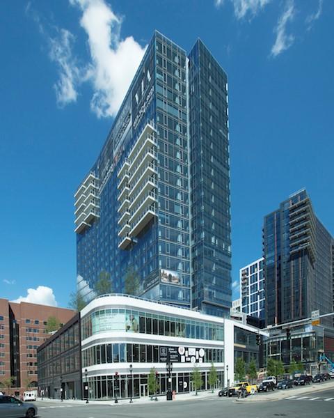 Boston Apartments: Twin Boston Apartment Towers Now Leasing