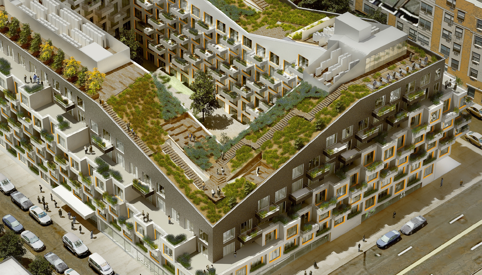Yorkville Home Design Center Urban Oasis A Green Roof Goes Above And Beyond At 10