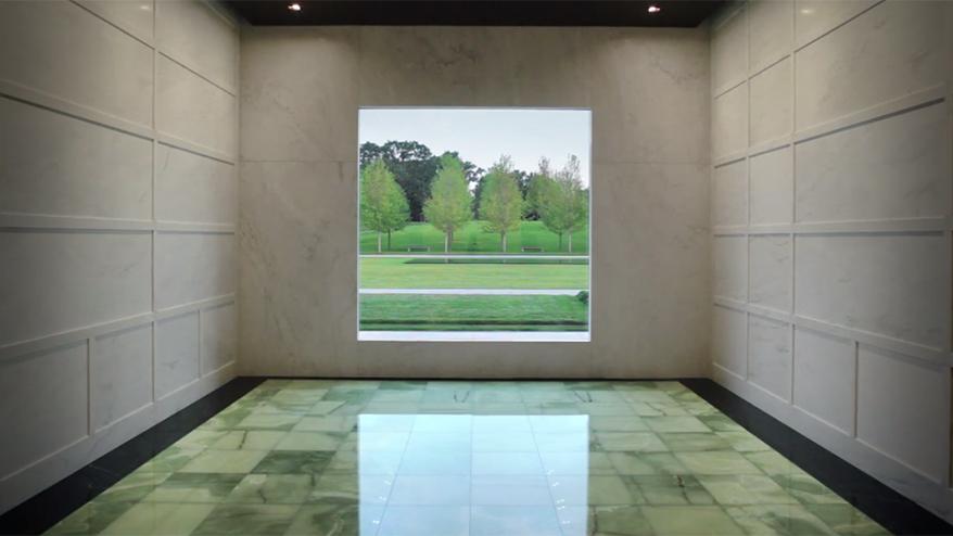 Lakewood Cemetery Garden Mausoleum - HGA | Architectural Lighting ...
