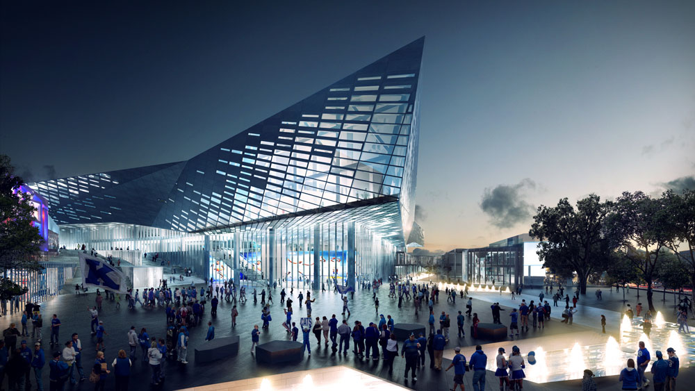 Rupp Arena Lexington Center Reinvention And Expansion