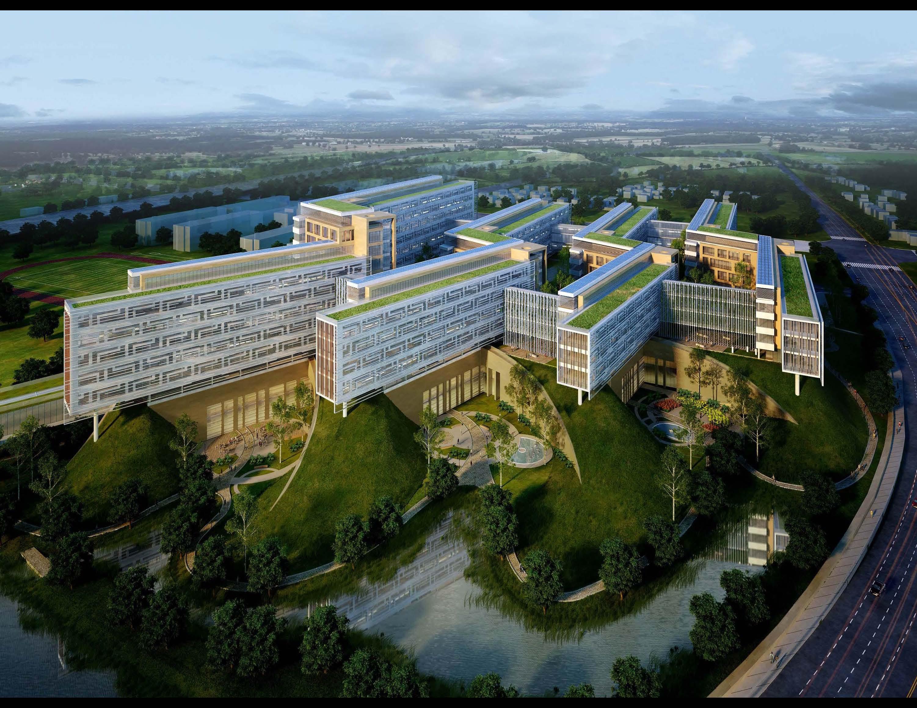 Shanghai Eastern Hepatobiliary Hospital Architect Magazine Perkins Will Shanghai China