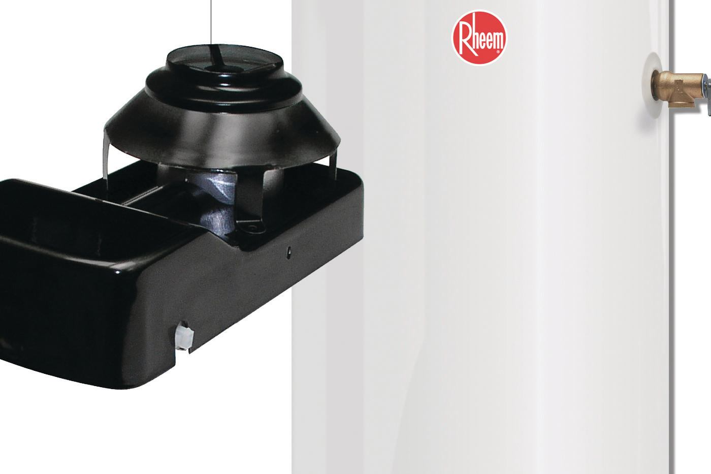 Rheem Manufacturing Co Powered Damper Water Heater